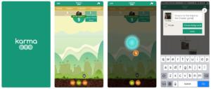 Karma Pea Mobile Screenshots